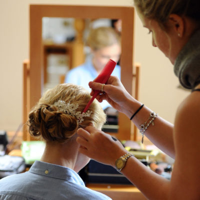 Wedding hair and makeup - Louise