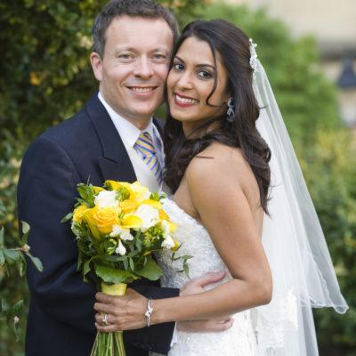Wedding hair and makeup - Anjali