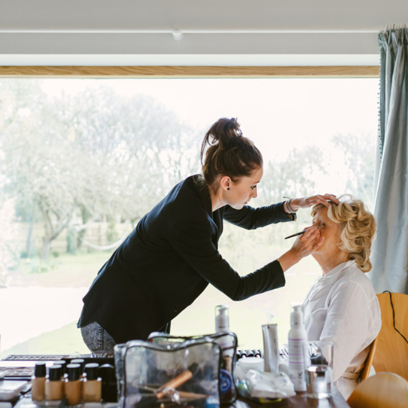 Wedding hair and makeup - Chloe