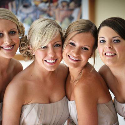 Wedding hair and makeup - Lauren