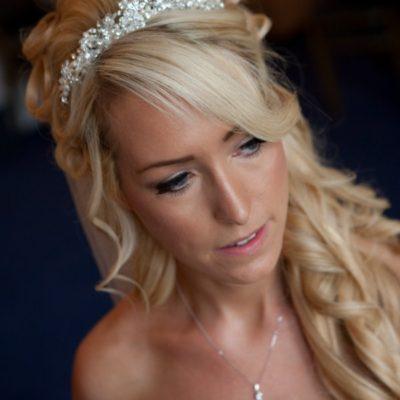 Wedding hair and makeup - Anna