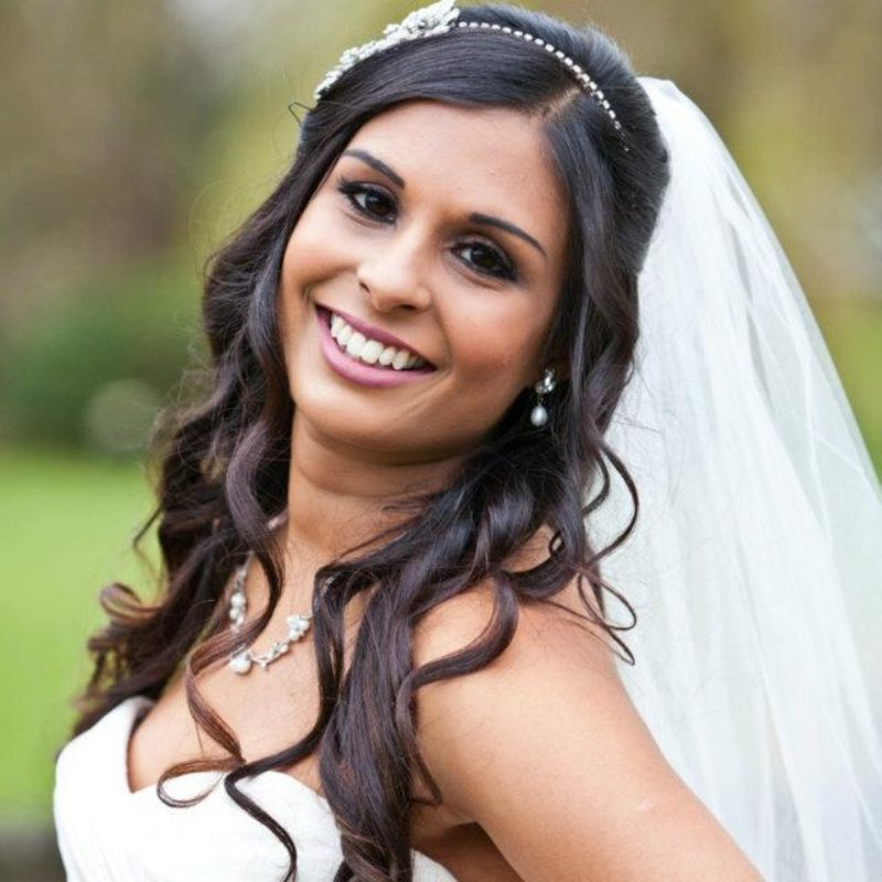 Wedding hair and makeup - Sofia
