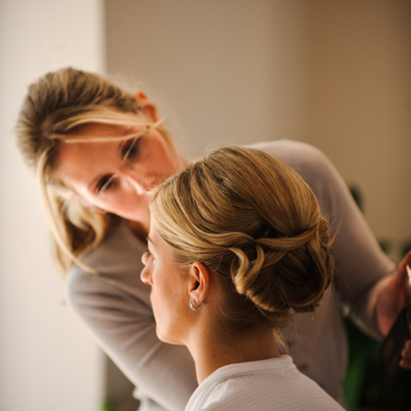 Wedding hair and makeup - Keryn