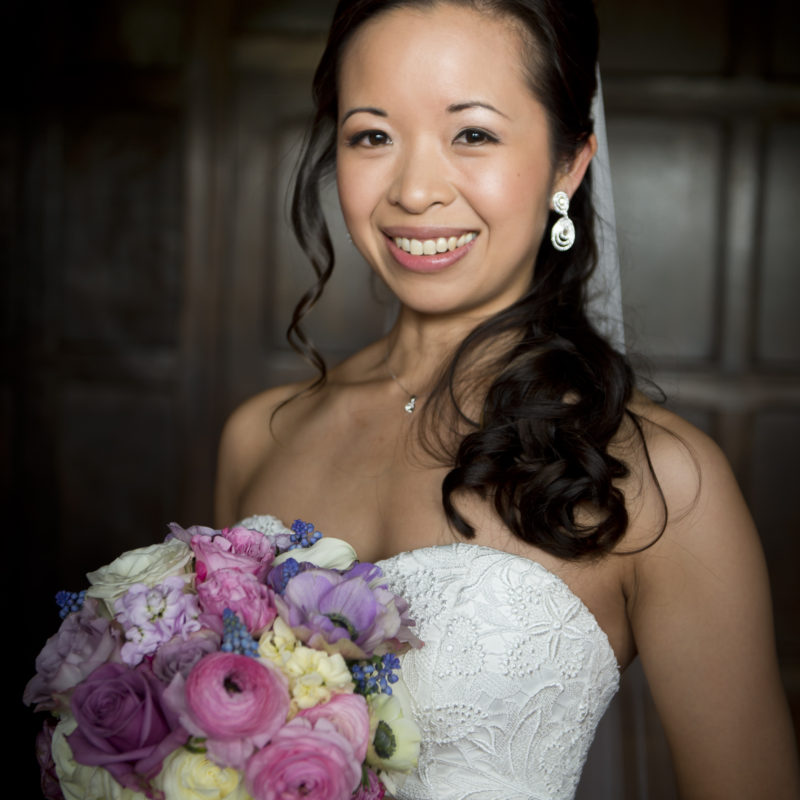 Wedding hair and makeup - Natasha