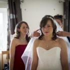 Wedding hair and makeup - Debbie