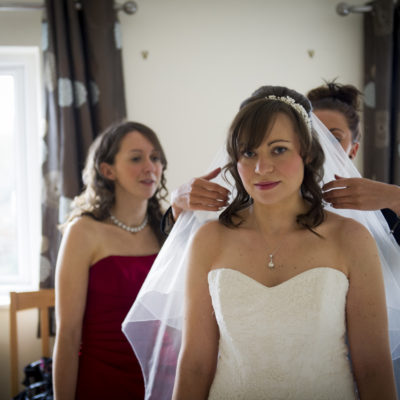Wedding hair and makeup - Debbie