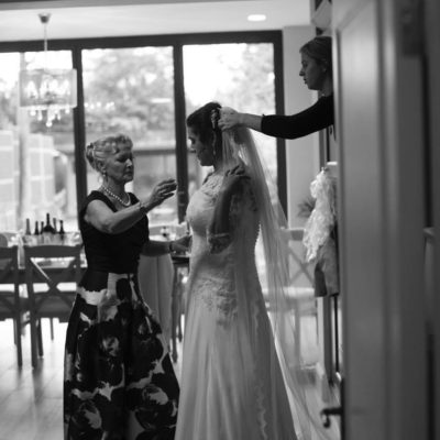 Wedding hair and makeup - Tania