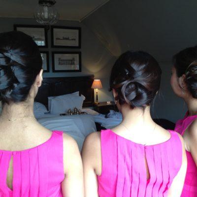 Wedding hair and makeup - Natasha