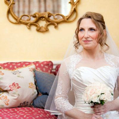 Wedding hair and makeup - Maria