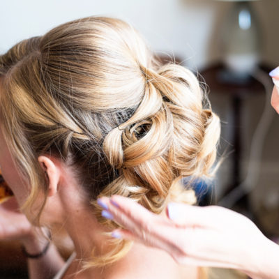 Wedding hair and makeup - Emily