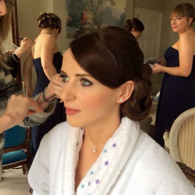 Wedding hair and makeup - Lucie