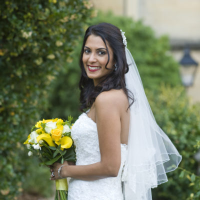 Wedding hair and makeup - Anjali