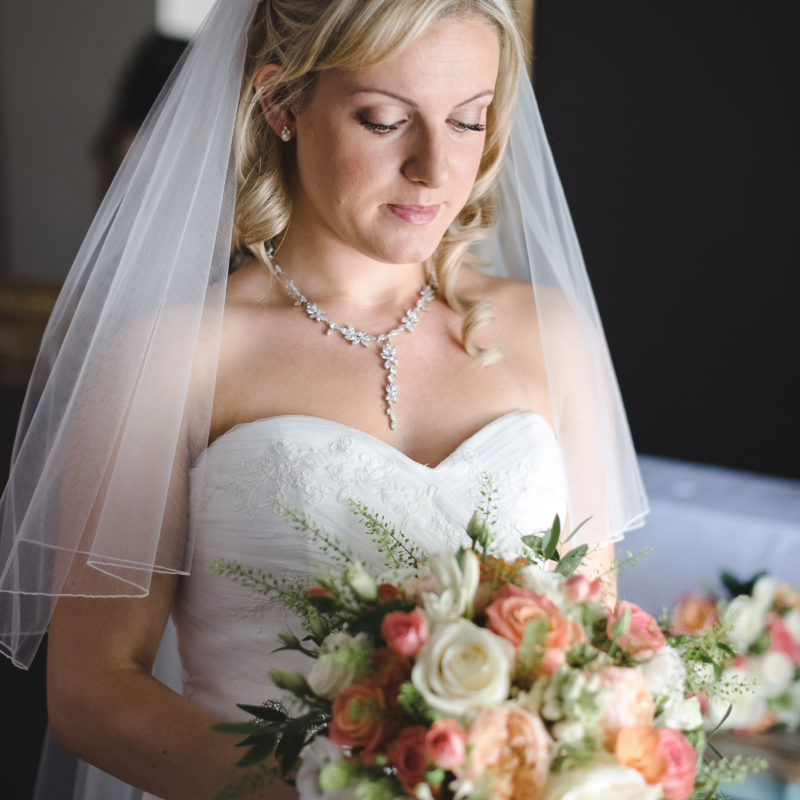 Wedding hair and makeup - Hayley